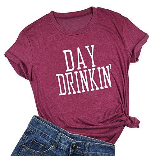 Women Day Drinkin Cute T Shirts DV01