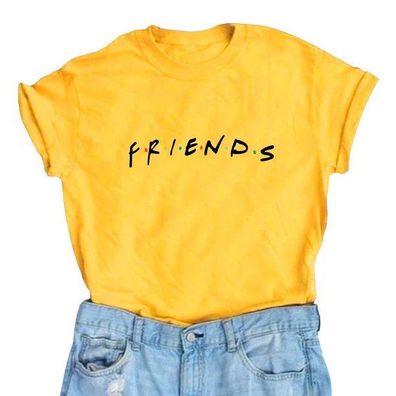 Women Friends Cute T-Shirts DV01