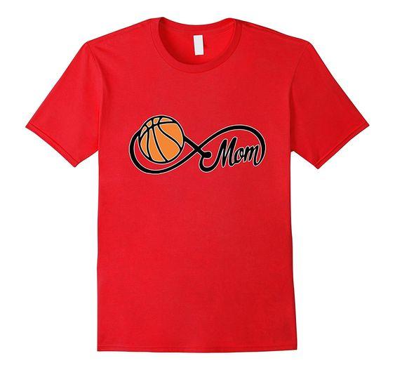 Womens Basketball Mom T-Shirt AZ01