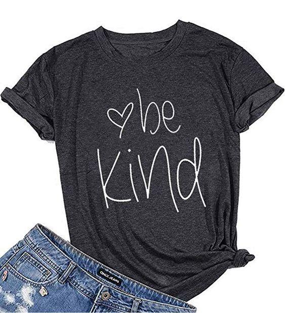 Womens Be Kind Cute T-Shirt DV01
