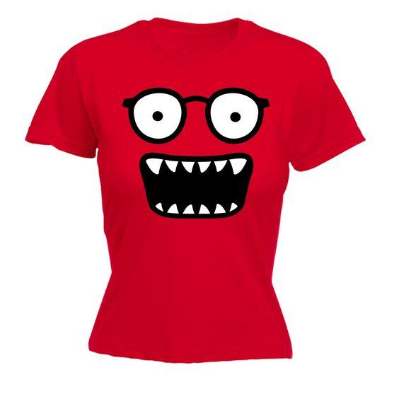 Women's Glasses Monster T-Shirt FD