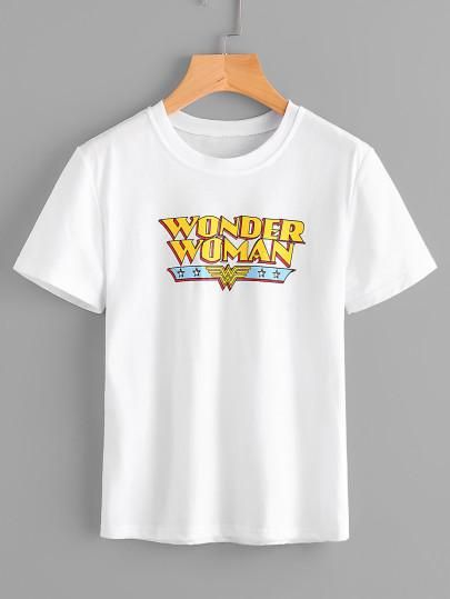 Wonder Woman printed T-Shirt DV