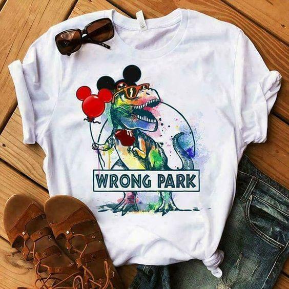 Wrong Park T-shirt AI01