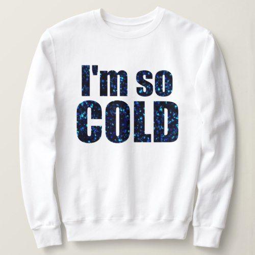 blue glitter sweatshirt ER01
