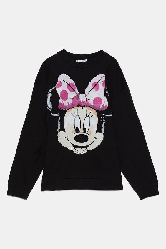 disney minnie mouse sweatshirt VL26