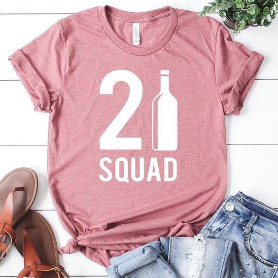 21st Squad T-shirt FD5N