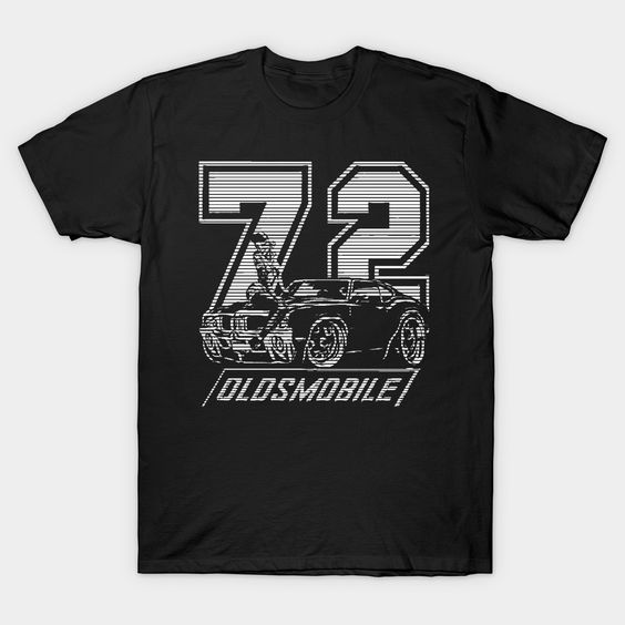 72 Olds Blind Side T Shirt SR6N
