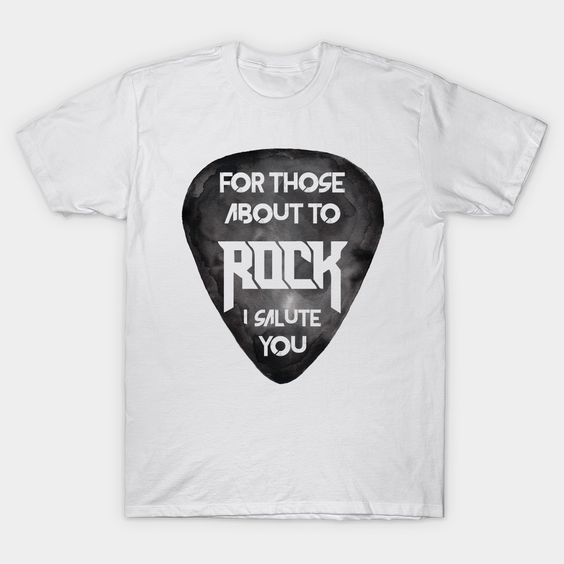 About to Rock T Shirt SR6N