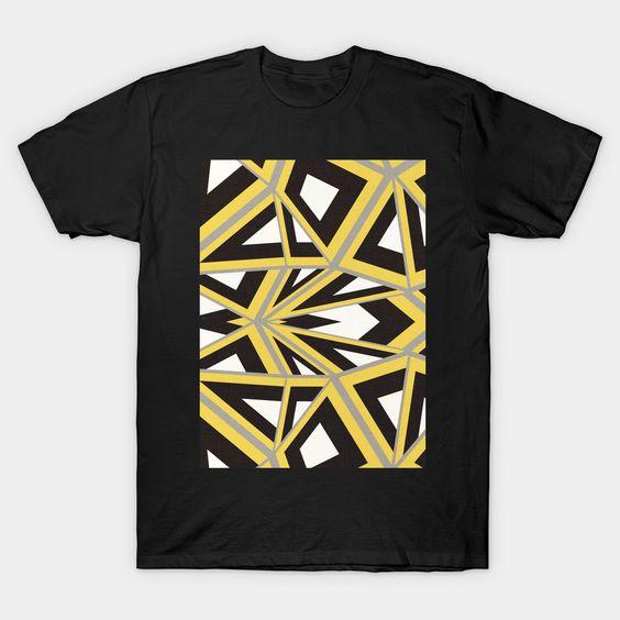 Abstract geometric art T-shirt N12FD