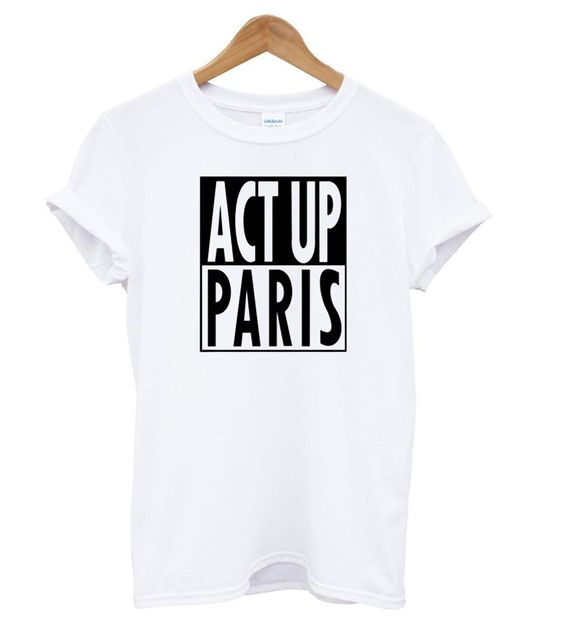 Act Up Paris T shirt SR15N