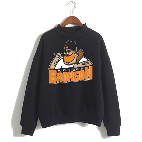 Action Bronson Black Sweatshirt ER15N