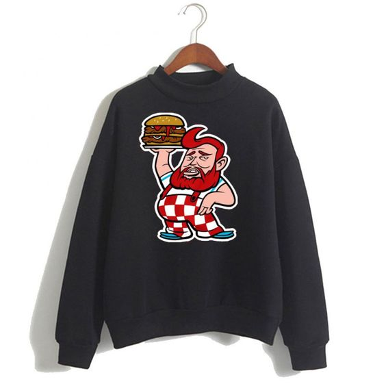 Action Bronson Burger Sweatshirt ER15N