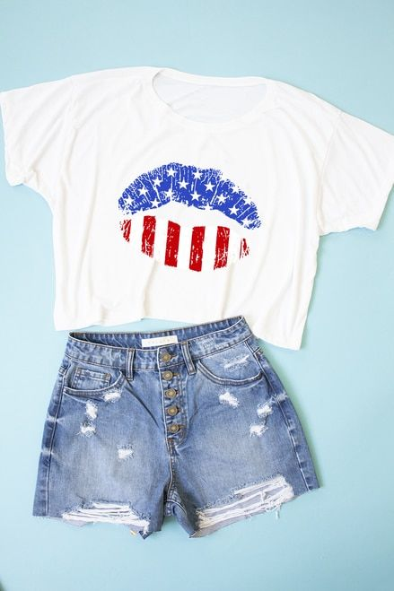 American Lips T-Shirt VL13N