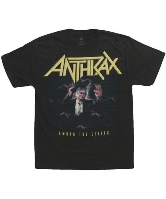 Anthrax Band T-shirt EL1N