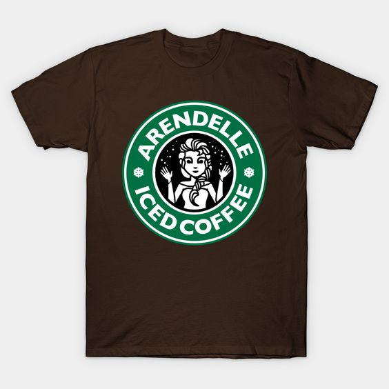 Arendelle Iced Coffee T-Shirt N12FD
