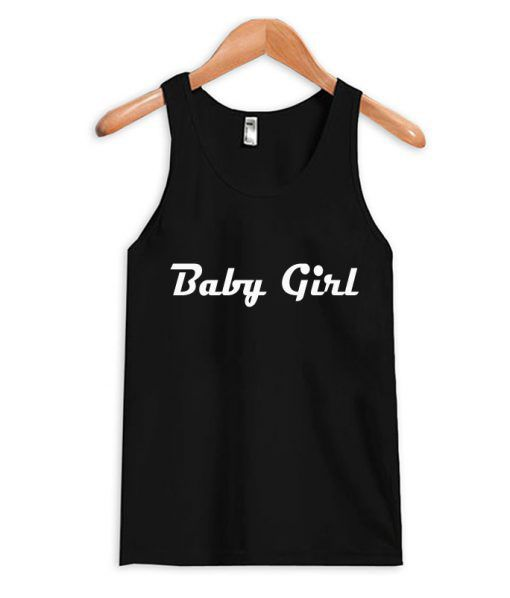 Baby Girl Black Tanktop ER27N