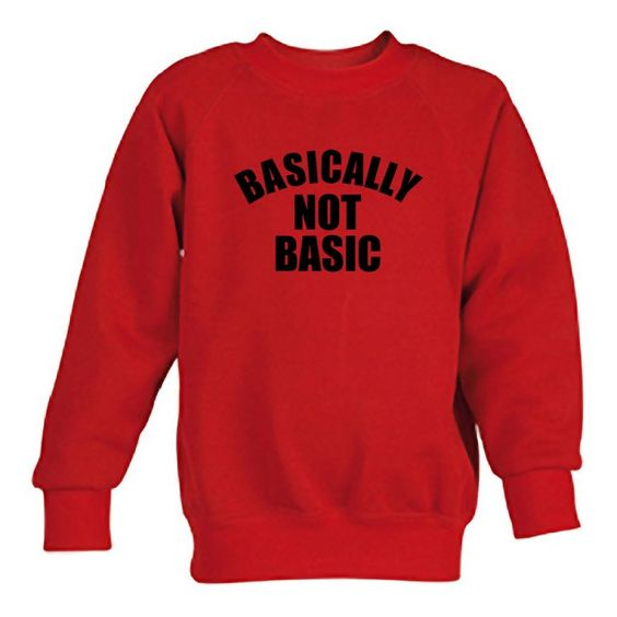 Basically Not Basic Sweatshirt N21NR