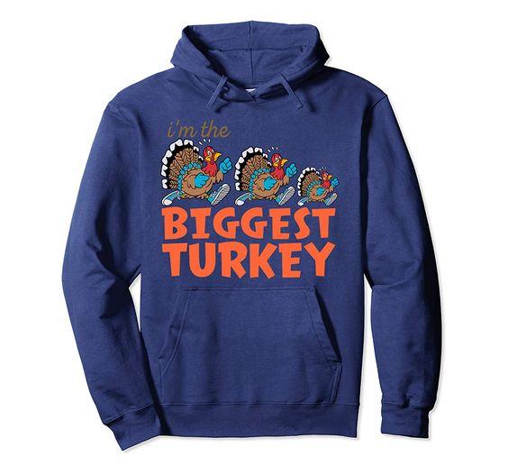Biggest Turkey Hoodie EL27N
