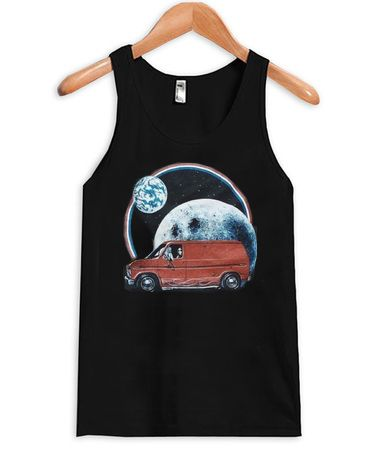 Car Moon Tanktop ER27N