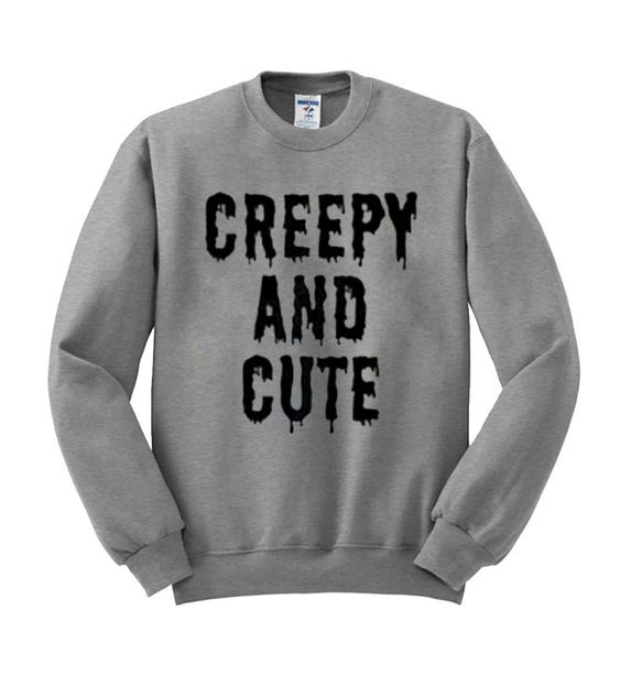 Creepy and cute sweatshirt N21NR