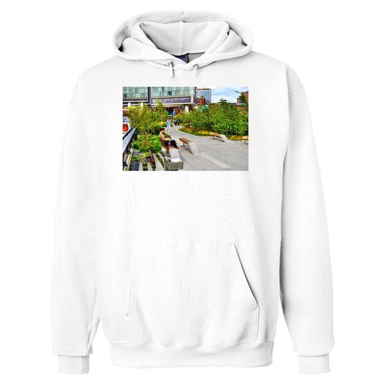 Girl Uninterrupted On The High Line Hoodie AI15N