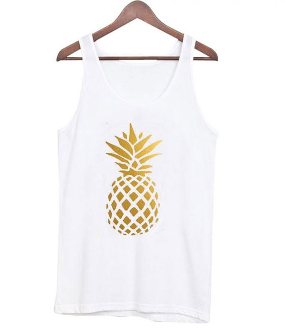 Golden Pineapple Tanktop ER27N