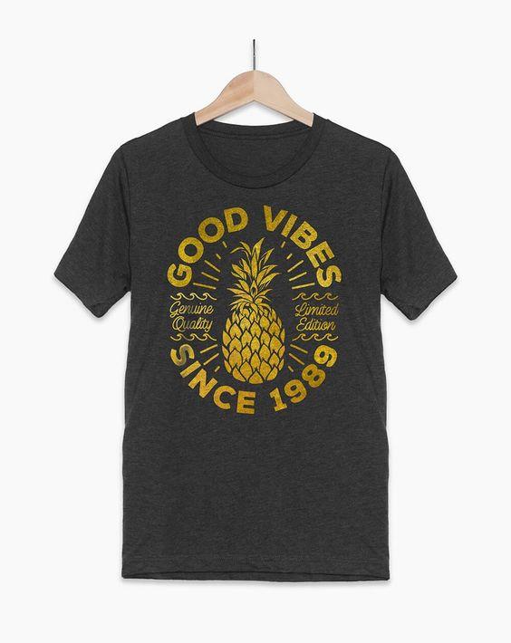 Good Vibes 1989 T-shirt FD5N