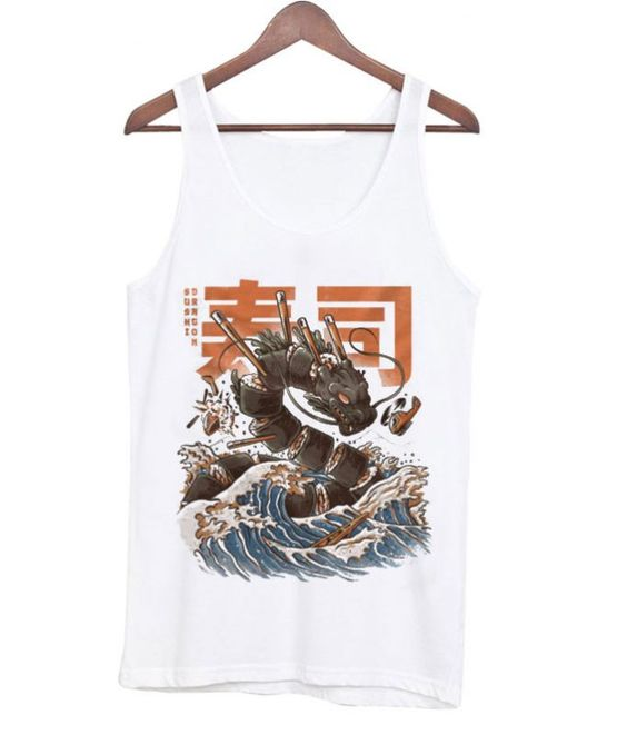 Great Sushi Dragon Tanktop ER27N
