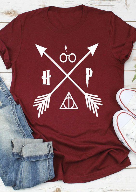 Harry Potter Arrow T-Shirt FD8N