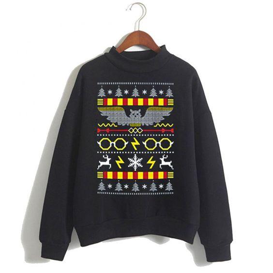 Harry Potter Christmas Sweatshirt ER15N