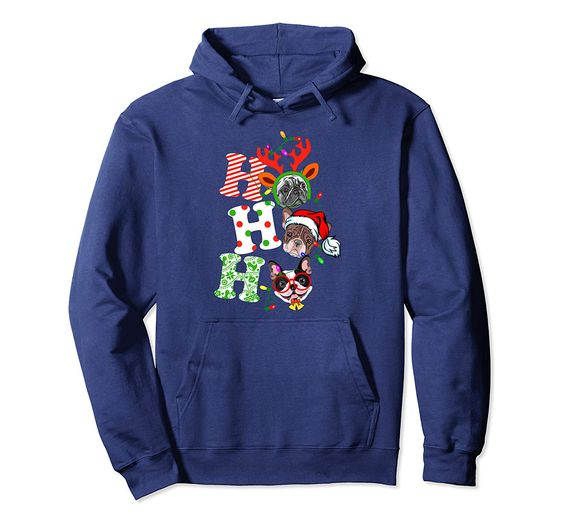 Ho Ho Ho Christmas Hoodie EL27N