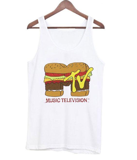 MTV Logo Burger Tanktop ER27N