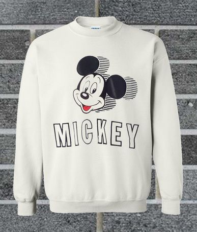 Mickey Mouse sweatshirt N26AI