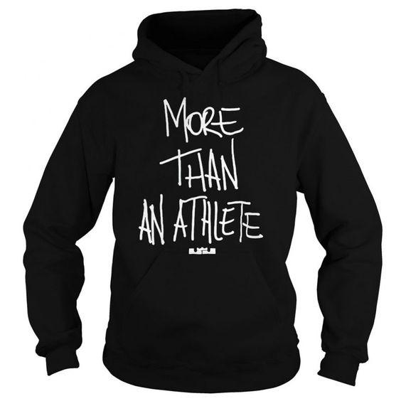 More Than An Athlete Hoodie AI15N