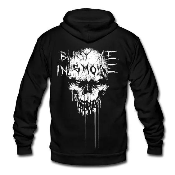 Skull Hoodie EM27N