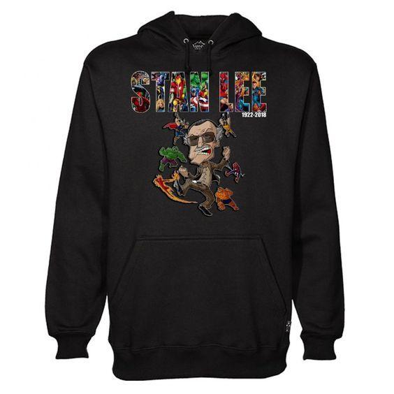 Stan Lee Marvel Hoodie EM27N