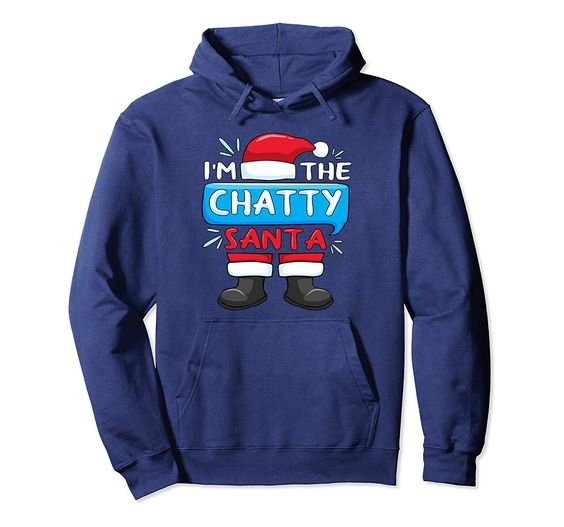 The Chatty Santa Hoodie EL27N