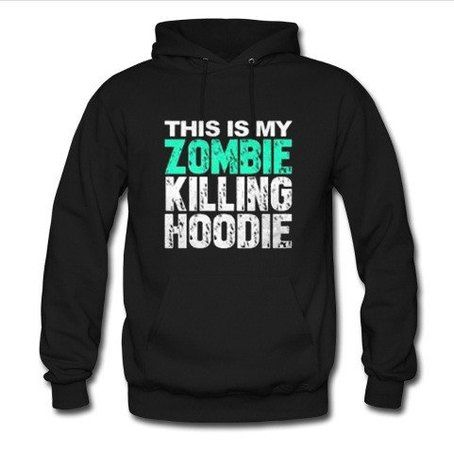 This Is My Zombie Killing Hoodie N30VL