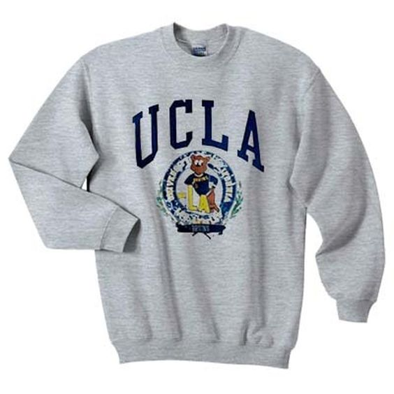 UCLA bruins bear sweatshirt N22AY
