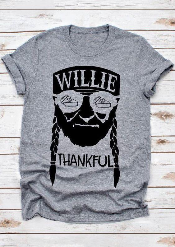 Willie Thankful T-Shirt VL13N