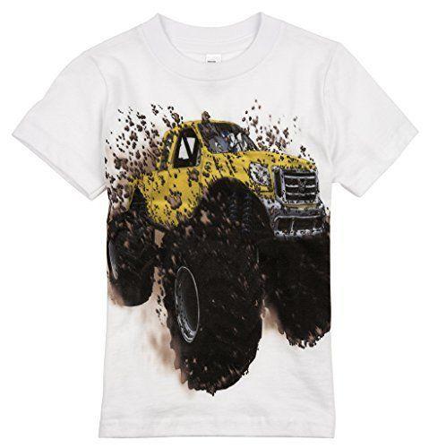 Yellow Monster Truck T-Shirt EM6N