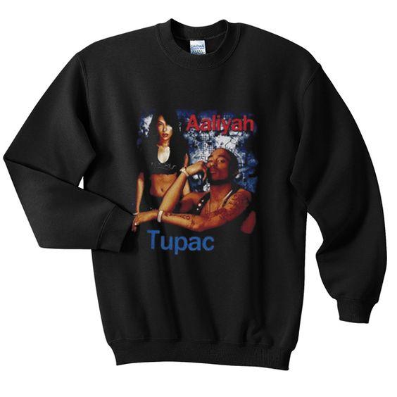 aaliyah tupac sweatshirt N22AY