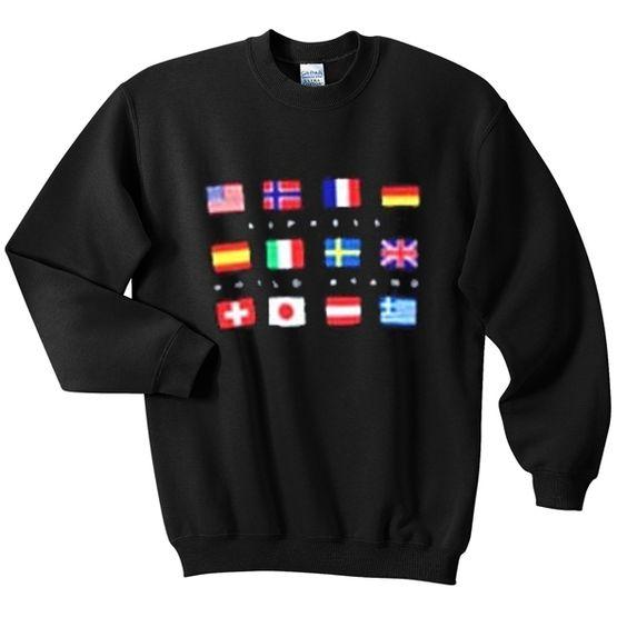 express world brand sweatshirt N22AY