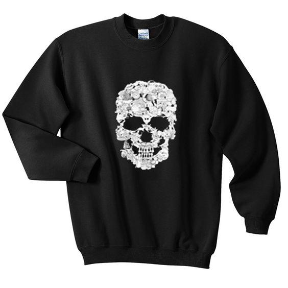 skull sweatshirt N22AY