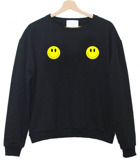 smiley face sweatshirt N21NR