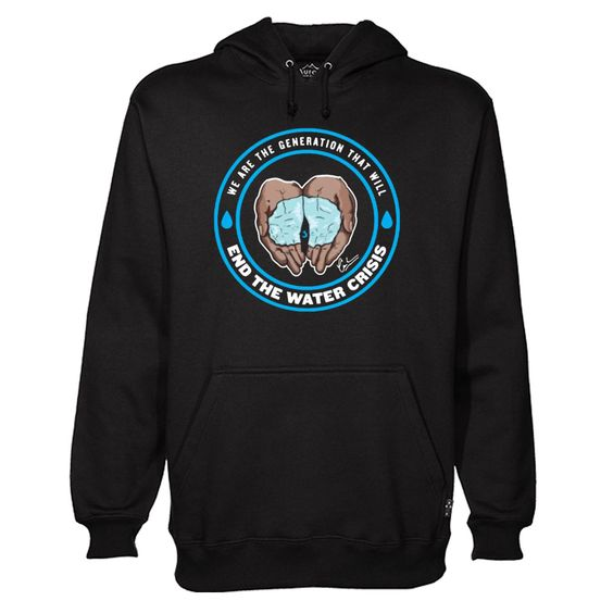 the Water Crisis Charity Hoodie AI15N