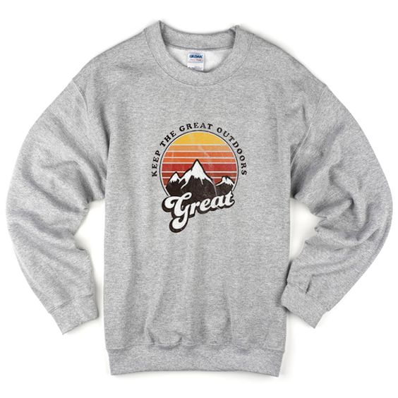 the great outdoors sweatshirt N22AY