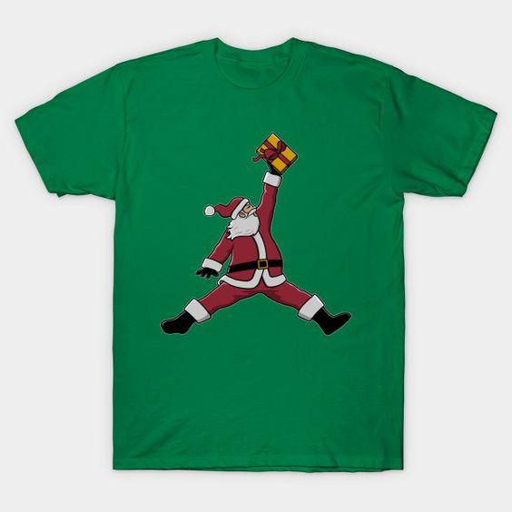 Air Santa Claus T-shirt ER30D