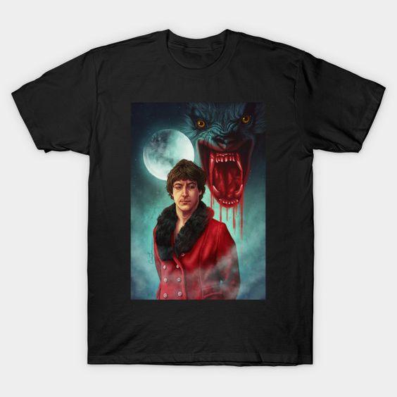 An American Werewolf T-Shirt LS27D