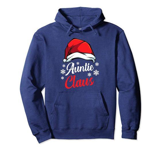 Auntie Claus Christmas Hoodie D7AZ